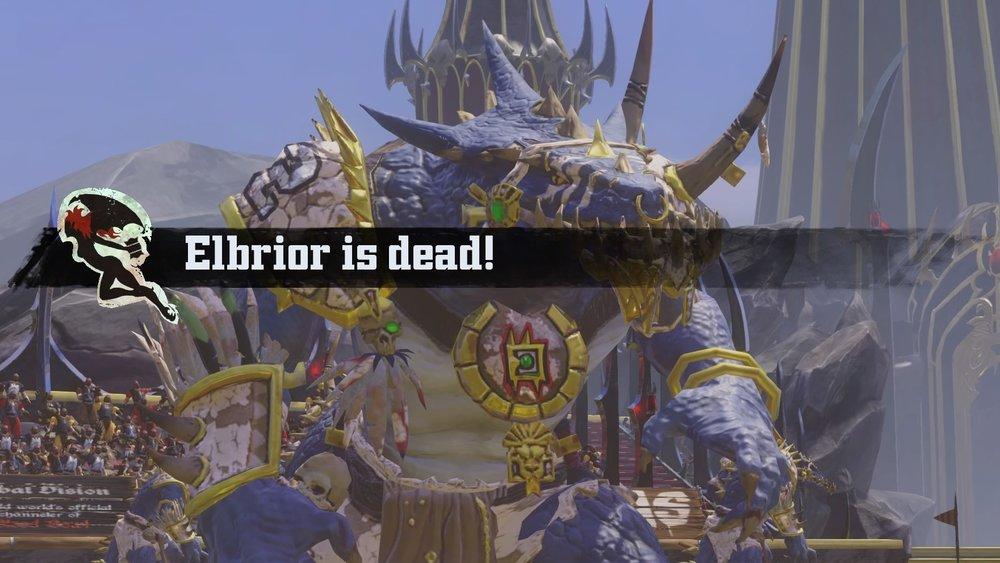 Not Elbrior! He's my favorite Speedy Demon!