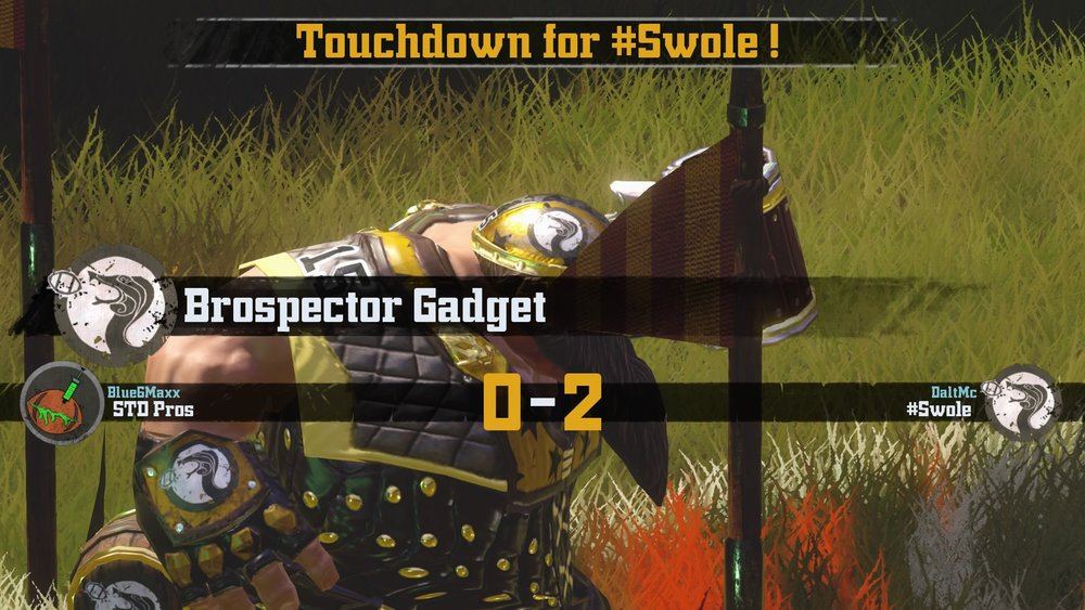 Brospector Gadget padding #Swole's lead to 2-0.