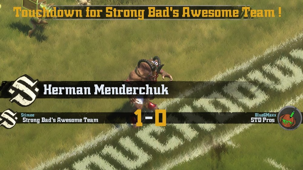 How fitting that Herman Menderchuk would score the touchdown to get The Awesome Team to the playoffs.