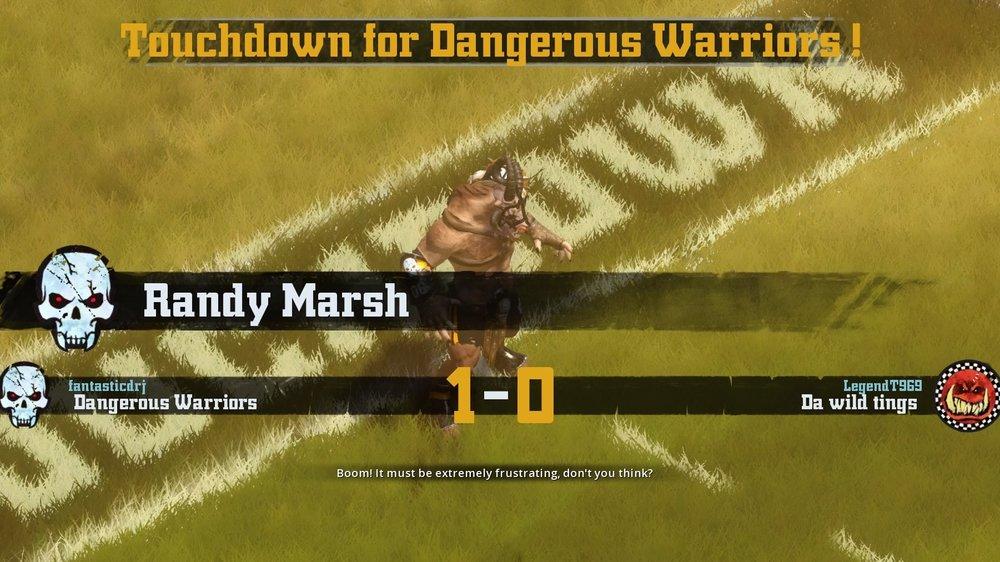 Randy Marsh in the spotlight where he belongs.