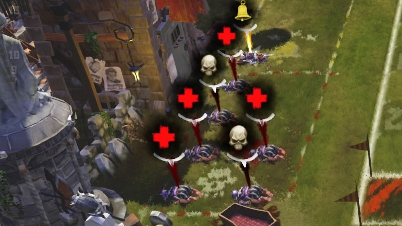 The Game of Gnomes took the brunt of the damage, with 2 deaths and a stat down.