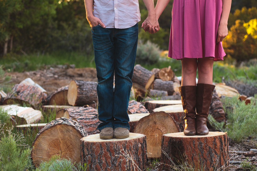 Pine Valley trendy couples photography southern utah