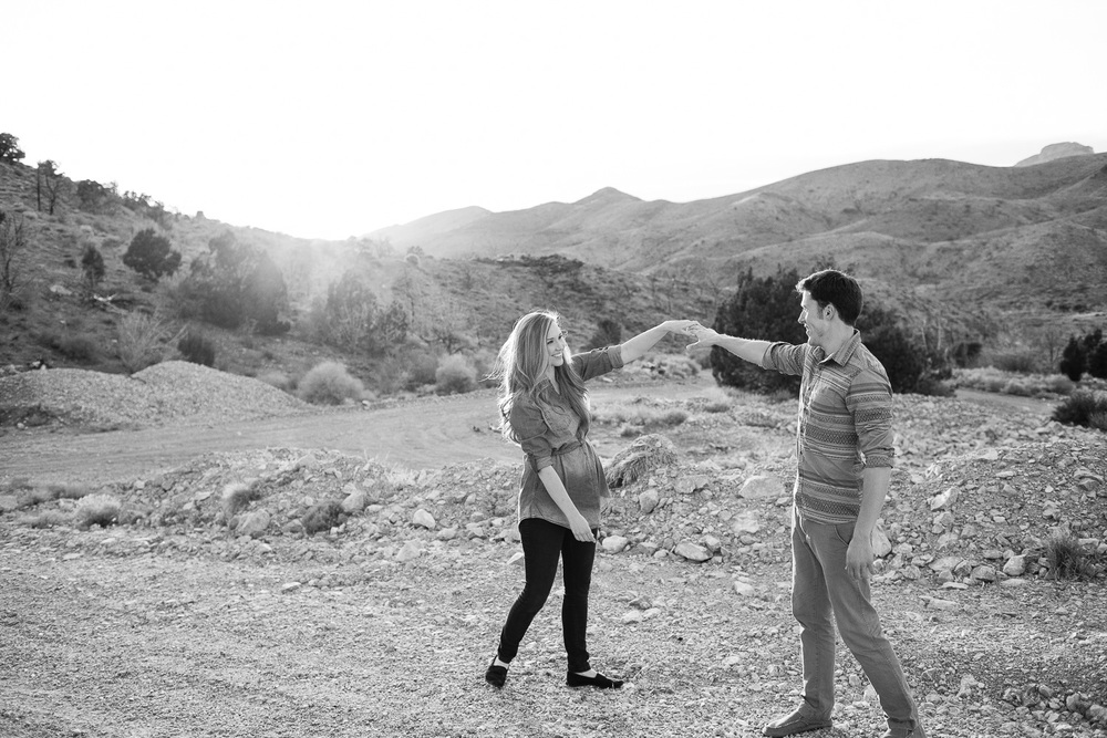Saint George Desert Adventure Engagement Photographers