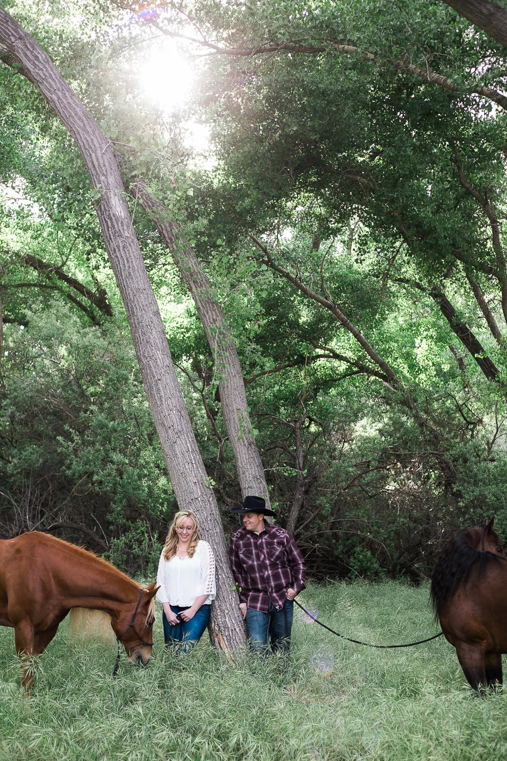 Springdale Utah Engagement session near Zion National Park