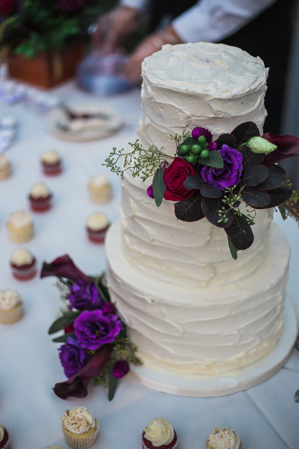 Wedding cake detail Salt Lake City Utah
