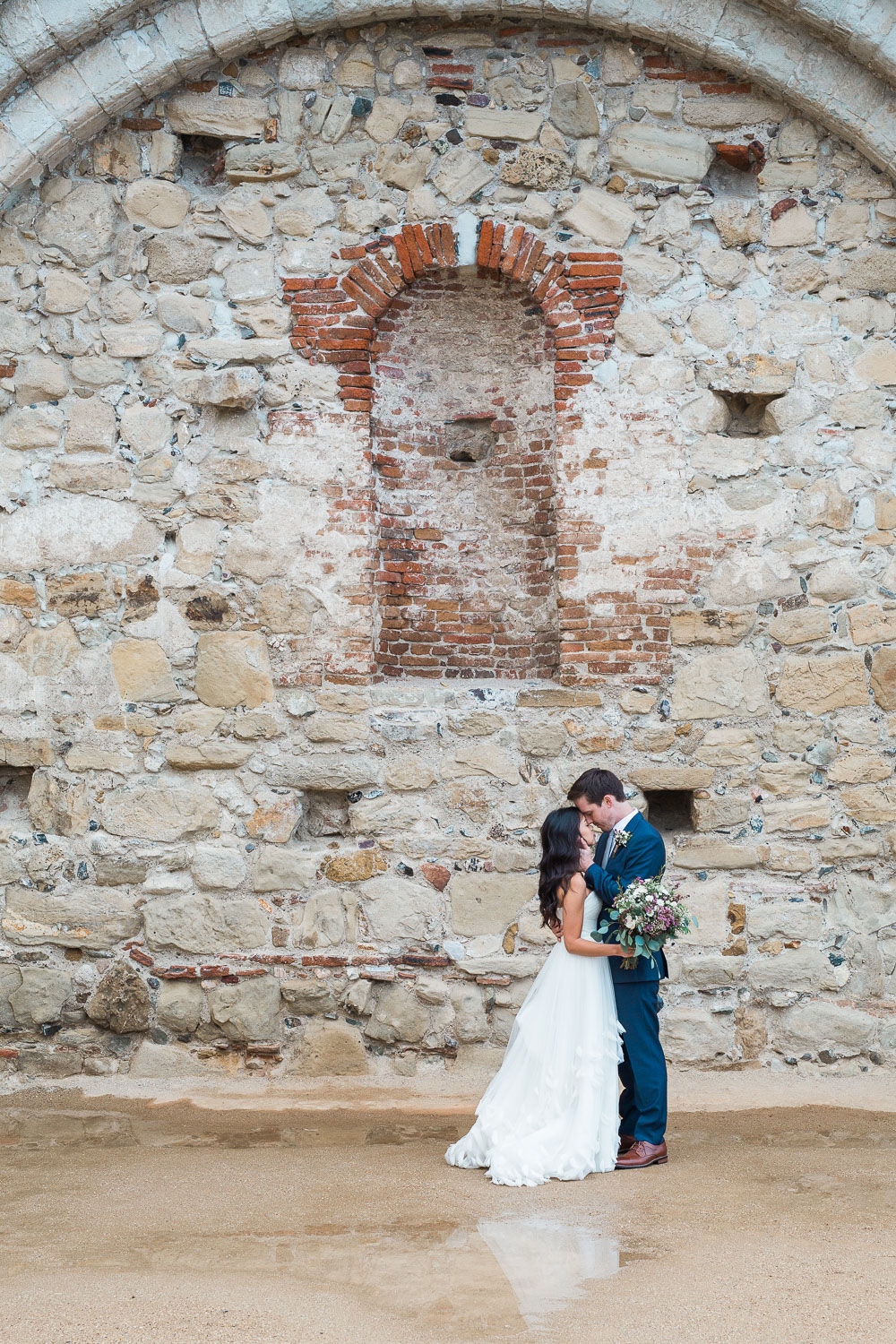 Mission San Juan Capistrano fine art wedding photographer Tyler Rye Photography