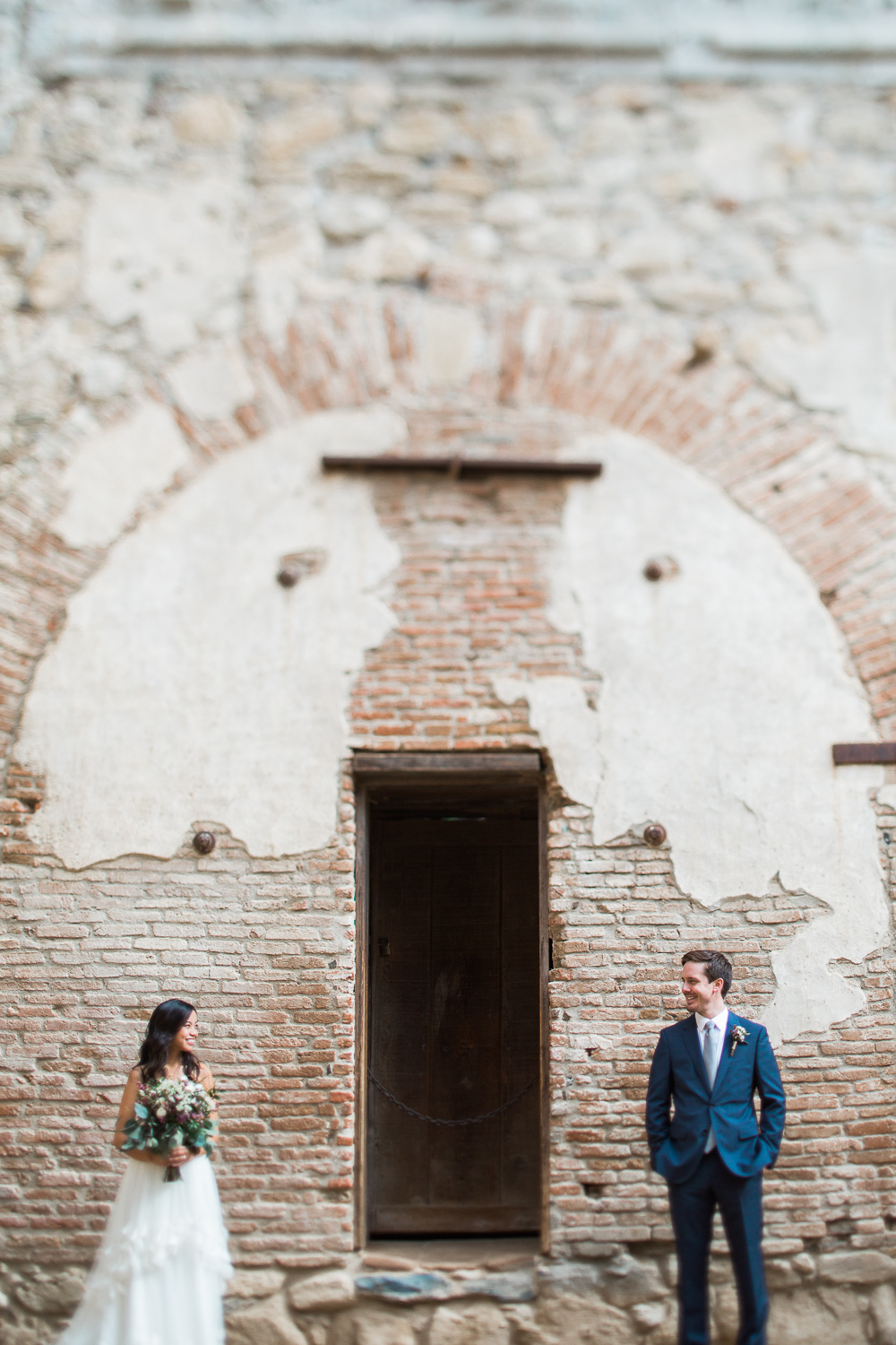 Southern California spanish mission bridal portraits Tyler Rye Photography