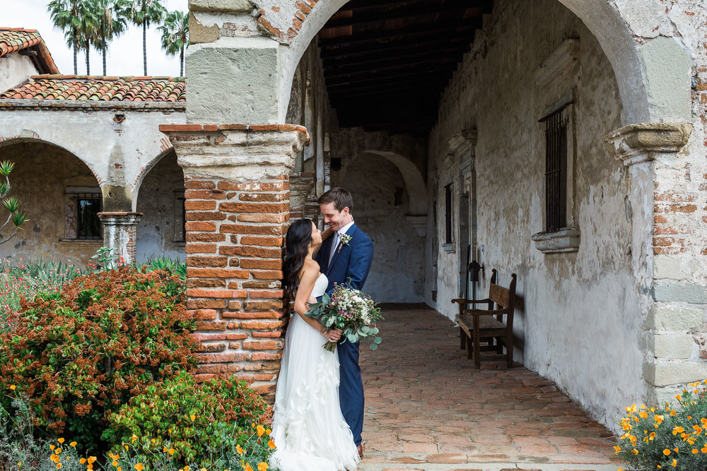 Historic ruins Southern California destination adventure elopement photographers Tyler Rye Photography