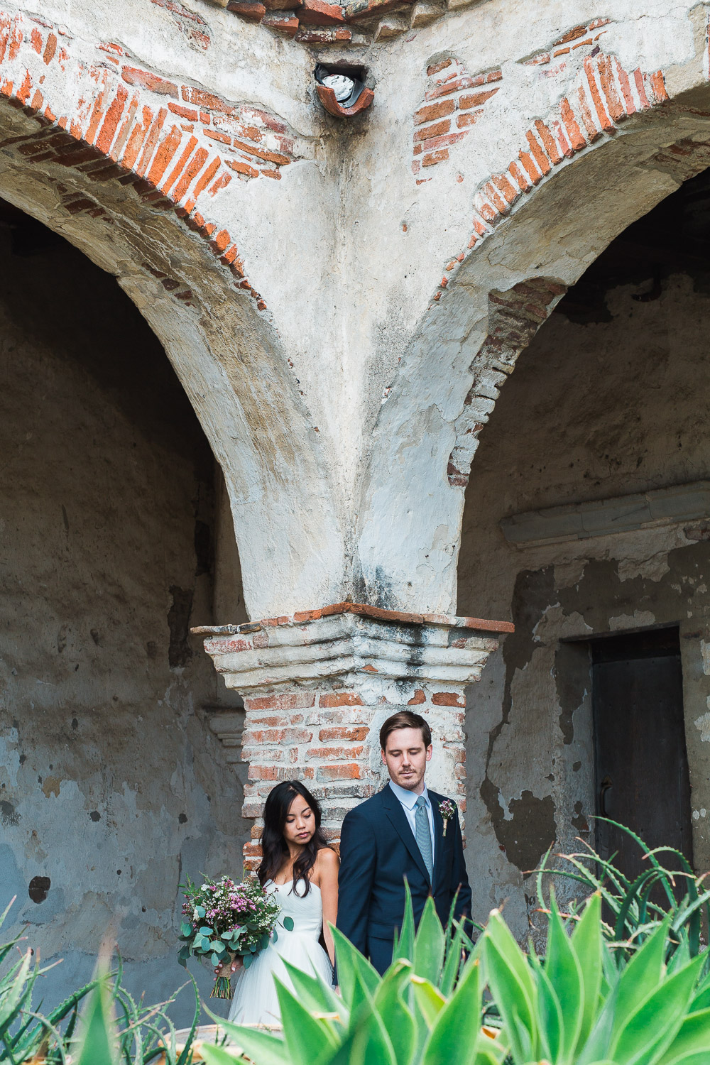 Mission San Juan Capistrano adventure wedding photography Tyler Rye