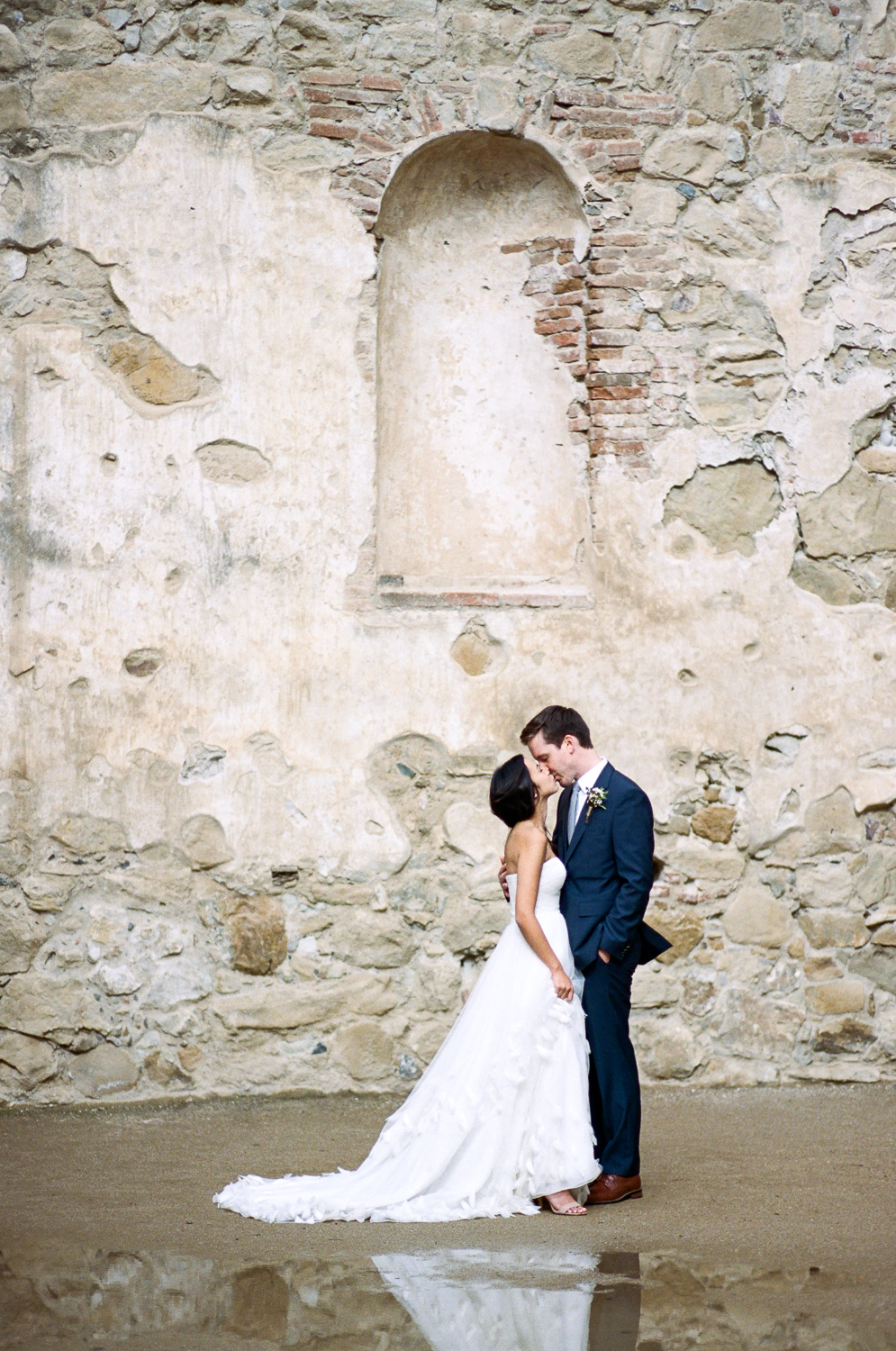 Fine Art wedding film photographer Mission San Juan Capistrano California epic bridals Tyler Rye Photography