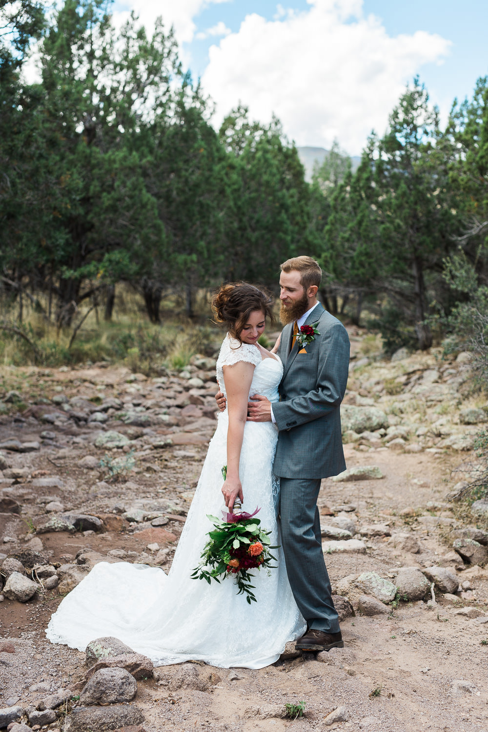 Utah bridals photography forest mountains