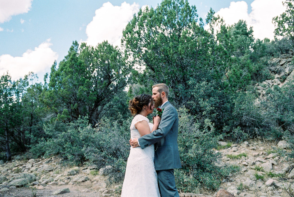 Utah film wedding photography hybrid portraits