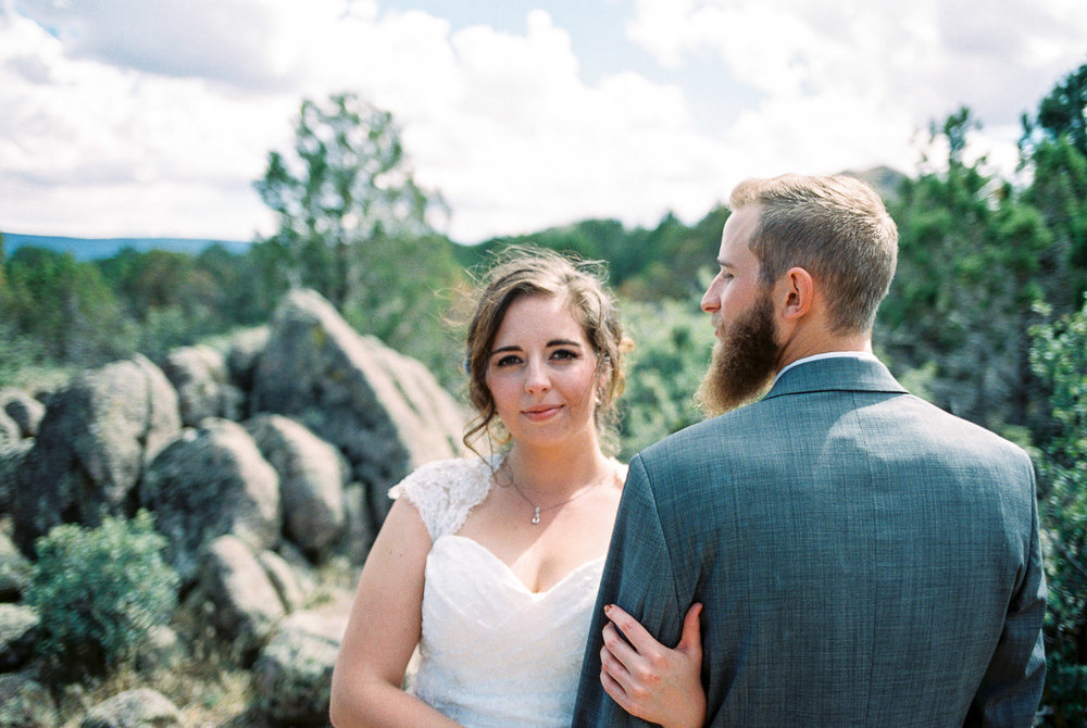 Rocky Mountain National Park Wedding photographer fine art film Fuji 400H 35mm