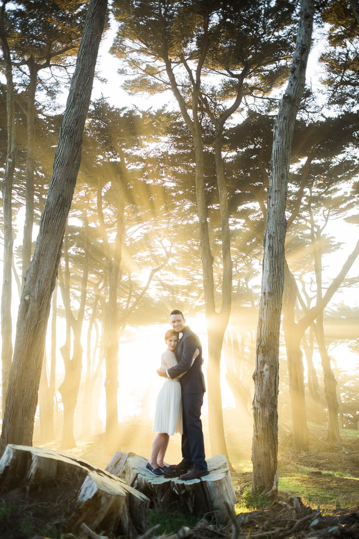 Epic San Francisco Adventure wedding photographers Lands End