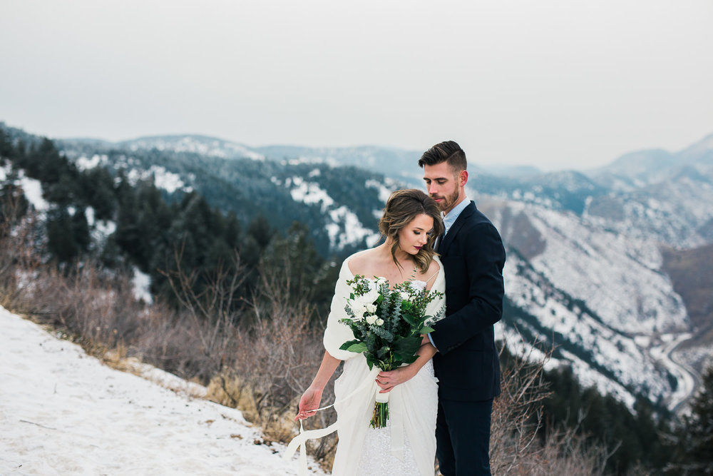 Rocky Mountain Colorado Elopement Photography Inspiration