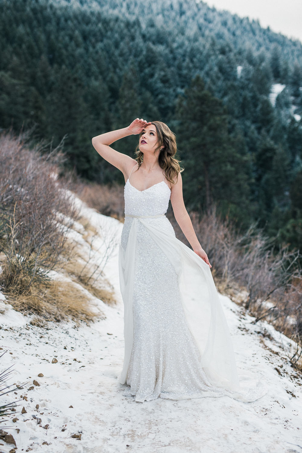 Emma and Grace Bridal Colorado Wedding Photographers