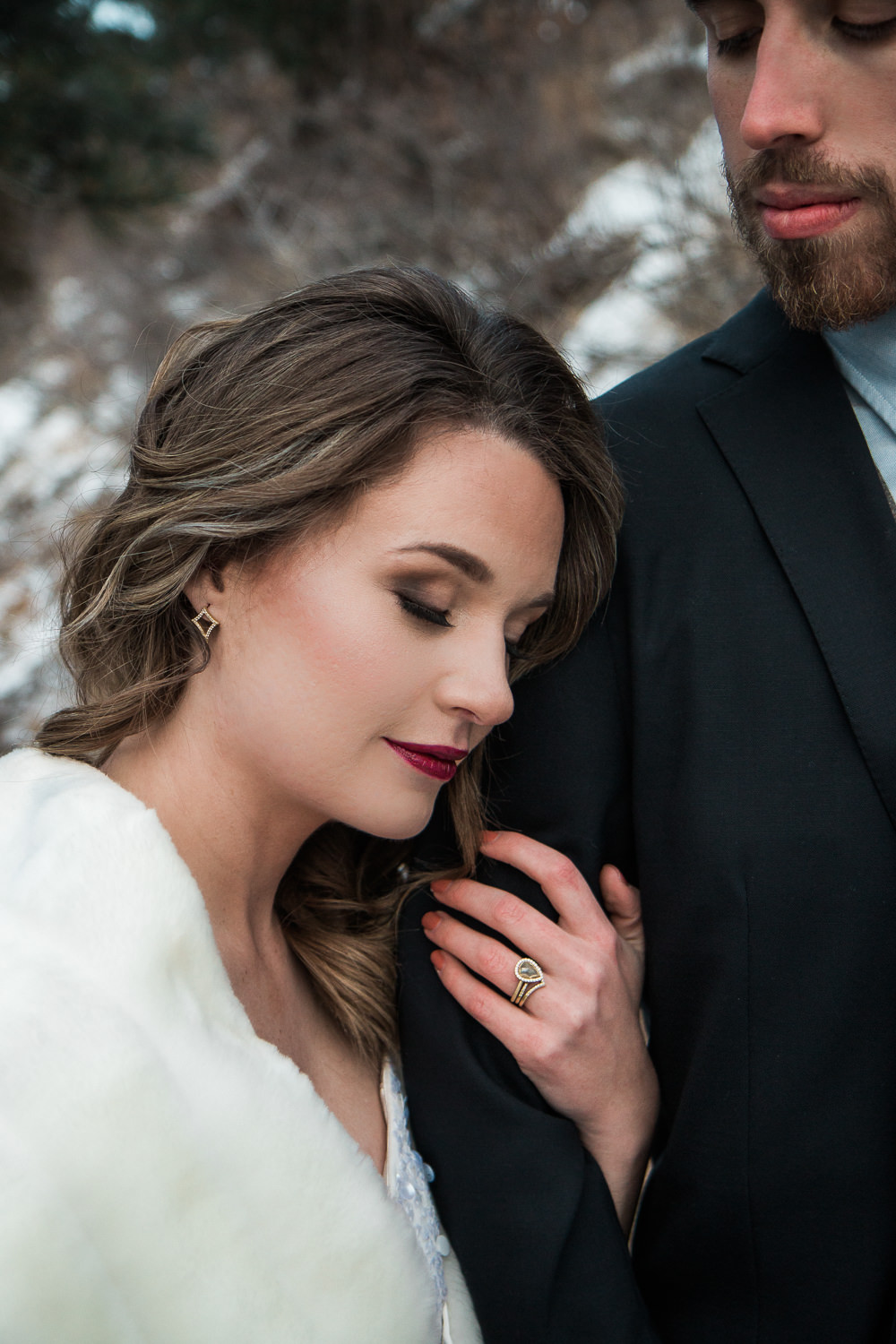 Bridal hair and make up custom wedding jewelry Denver Colorado local