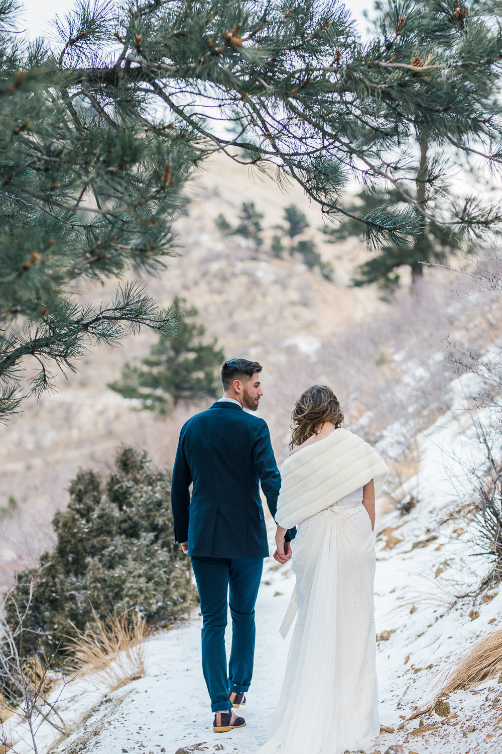 Elegant Lookout Mountain Winter Elopement Inspiration