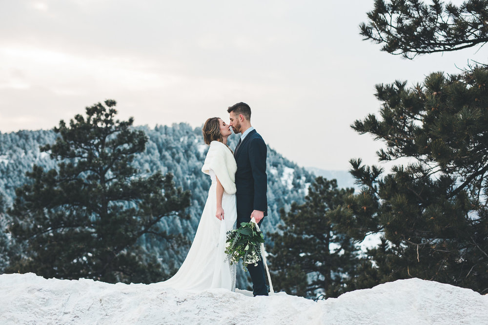 Rocky Mountain Elopement wedding photographers