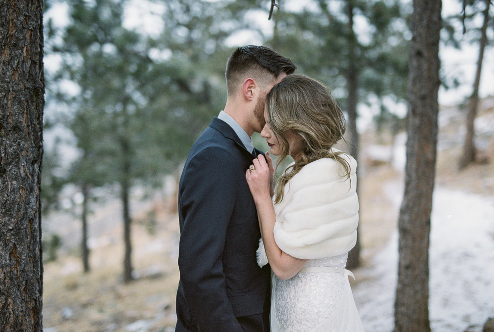 Colorado mountain wedding photographers Summit County fine art film fuji 400h