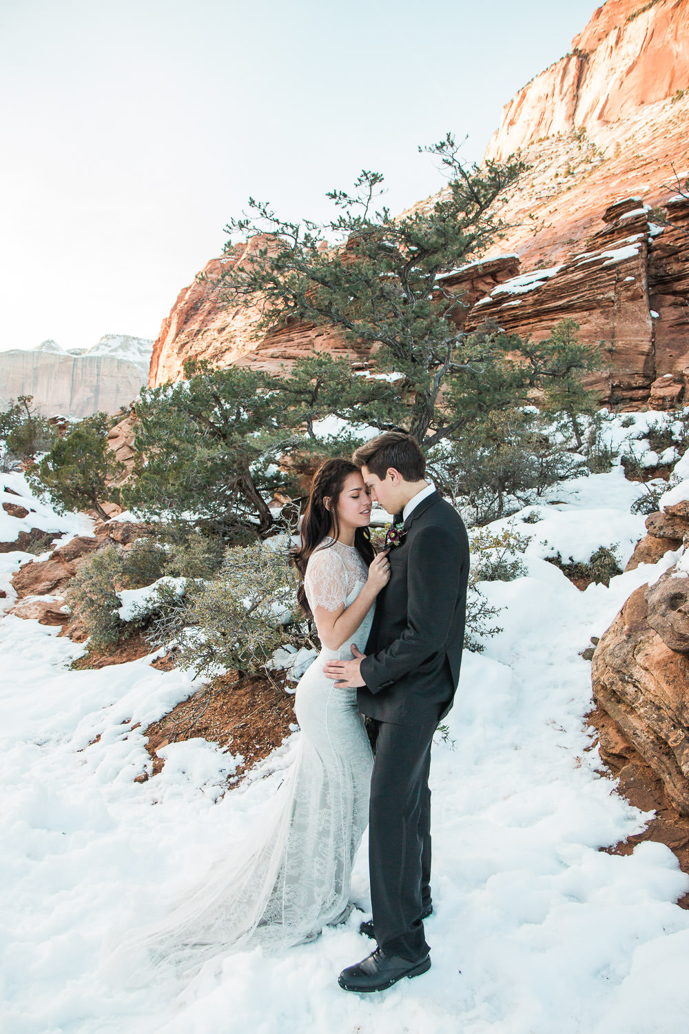 Destination Elopement in Zion National Park photographers