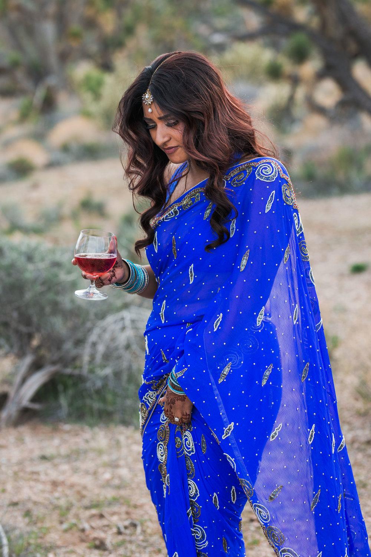 Nepali bride eloping in the desert Kyle Loves Tori Photography