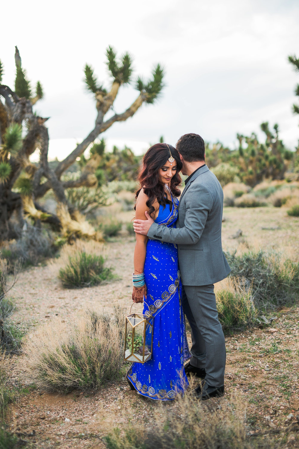 Ethnic couple has an adventure elopement in the Utah Desert Kyle Loves Tori Photography