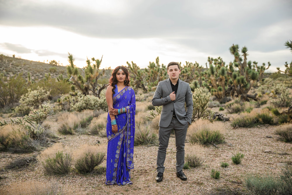 Epic Joshua Tree Interracial elopement Southern Utah Kyle Loves Tori Photography