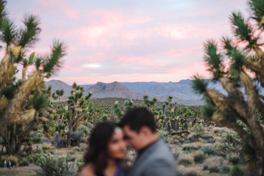 Epic sunset adventure elopement Joshua tree nature preserve Utah Kyle Loves Tori Photography