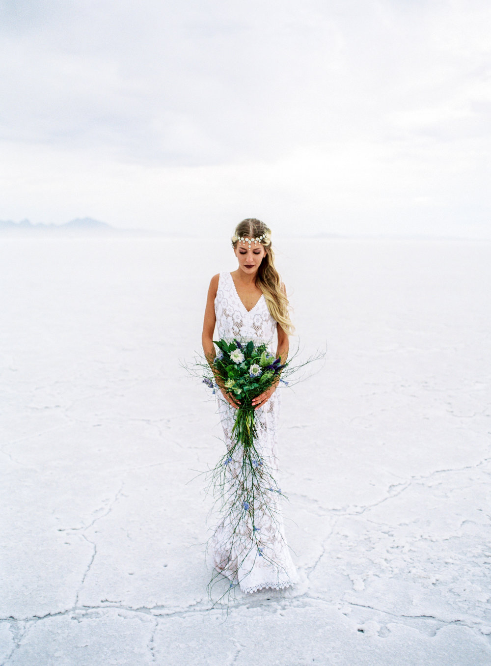 Fuji 400h fine art film wedding photographers l floral studio saldana vintage danani handmade