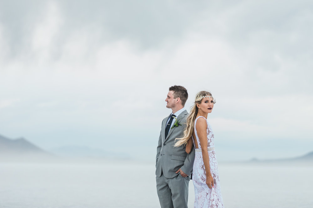 Fine Art adventure wedding photography Kyle Loves Tori Utah