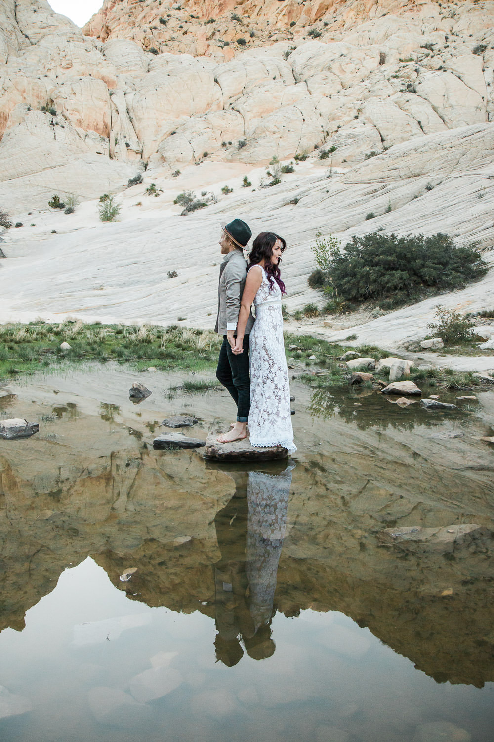 Desert oasis adventure wedding pictures Kyle Loves Tori Photography