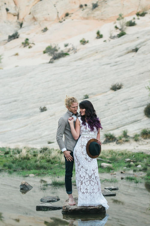 Inspiration to elope in the desert of Utah