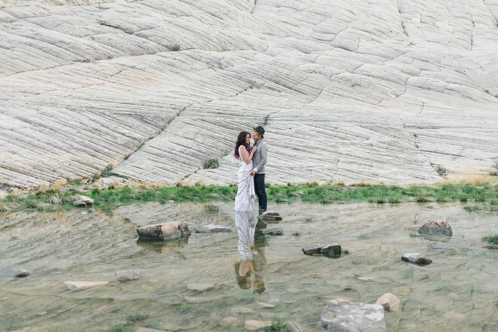 Intimate destination wedding elopement photographers Kyle Loves Tori Photography