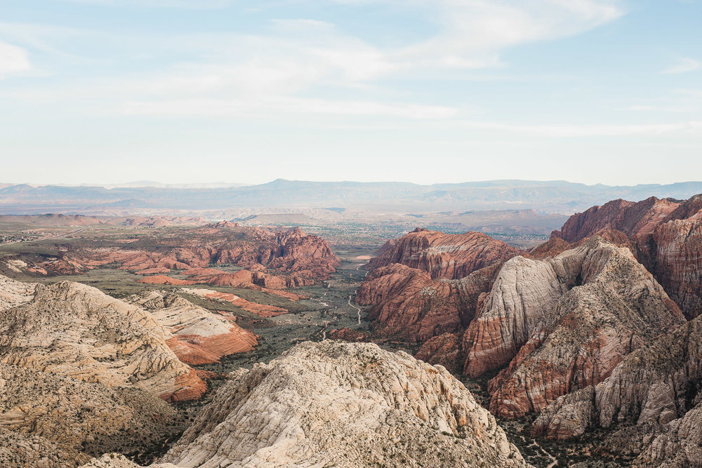 Snow Canyon State Park Red Mountain Overlook Saint George Utah