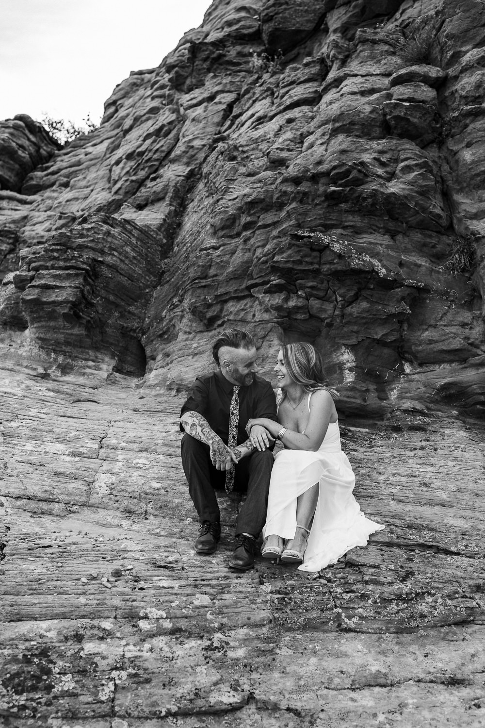 Intimate desert vow renewal Kyle and Tori Sheppard