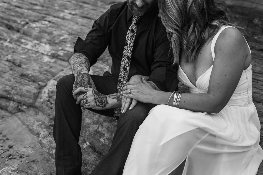 Emotional vow renewal fine art photographers Kyle and Tori Sheppard