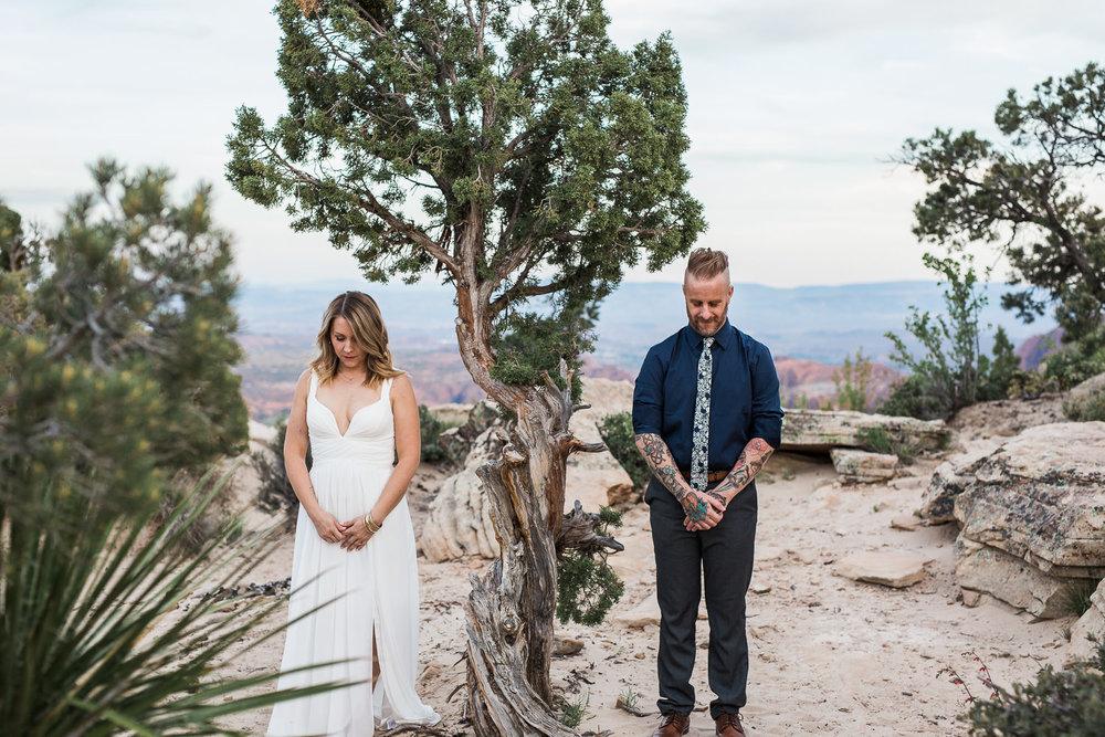 Desert Vow Renewal Adventure Wedding Photographers Saint George Utah