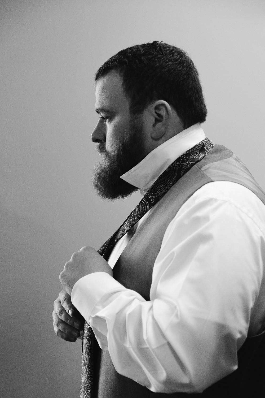 Wedding day groom Orem Utah