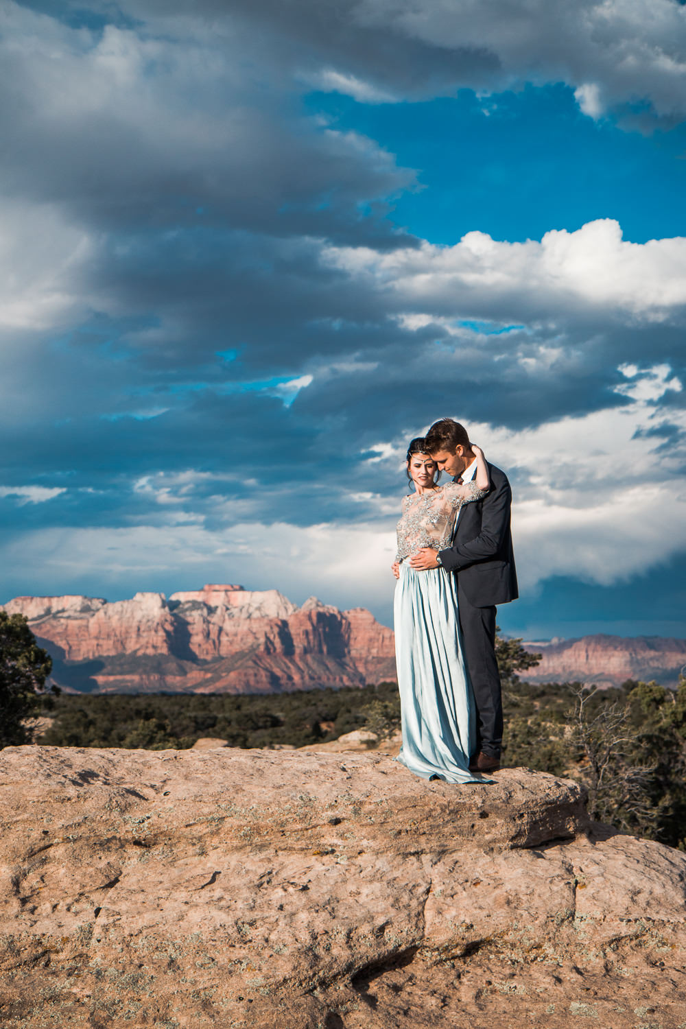 Zion National Park Adventure Wedding and Elopement Photographers
