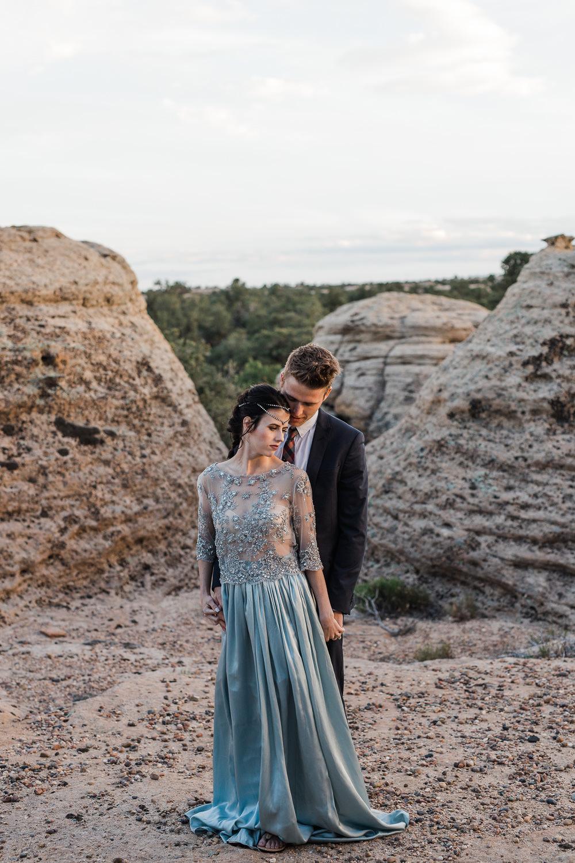 Evan Stowers wedding hair St. George Utah