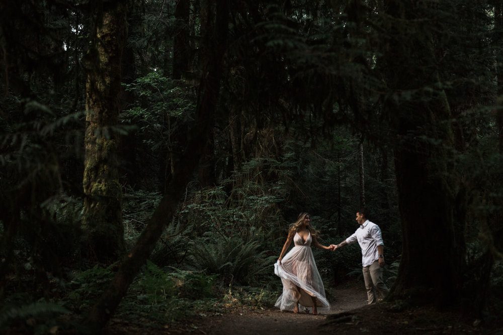 Bainbridge Island Washington Elopement Inspiration
