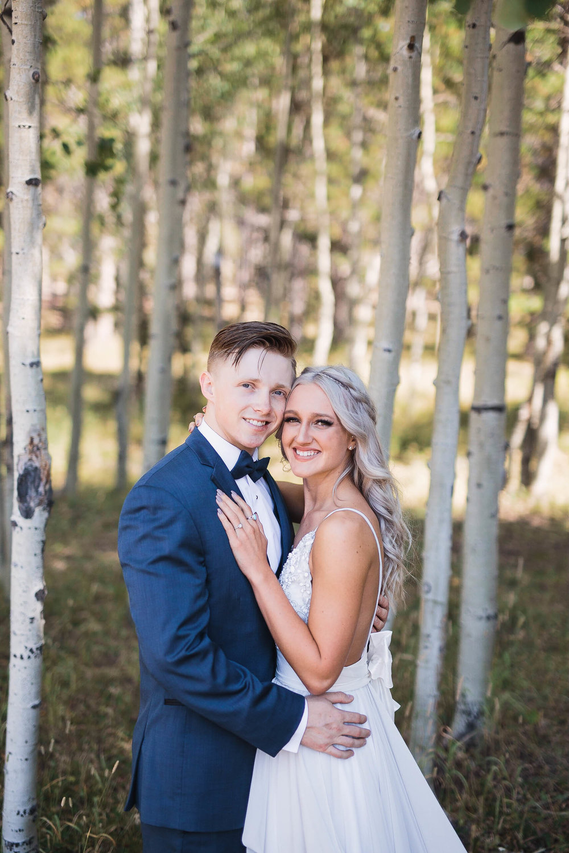 Casper Wyoming Wedding Couple portraits