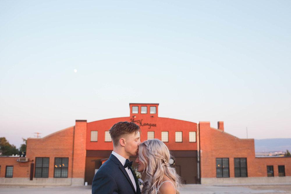 The Hangar Bar and Grill Wedding Venue Portraits