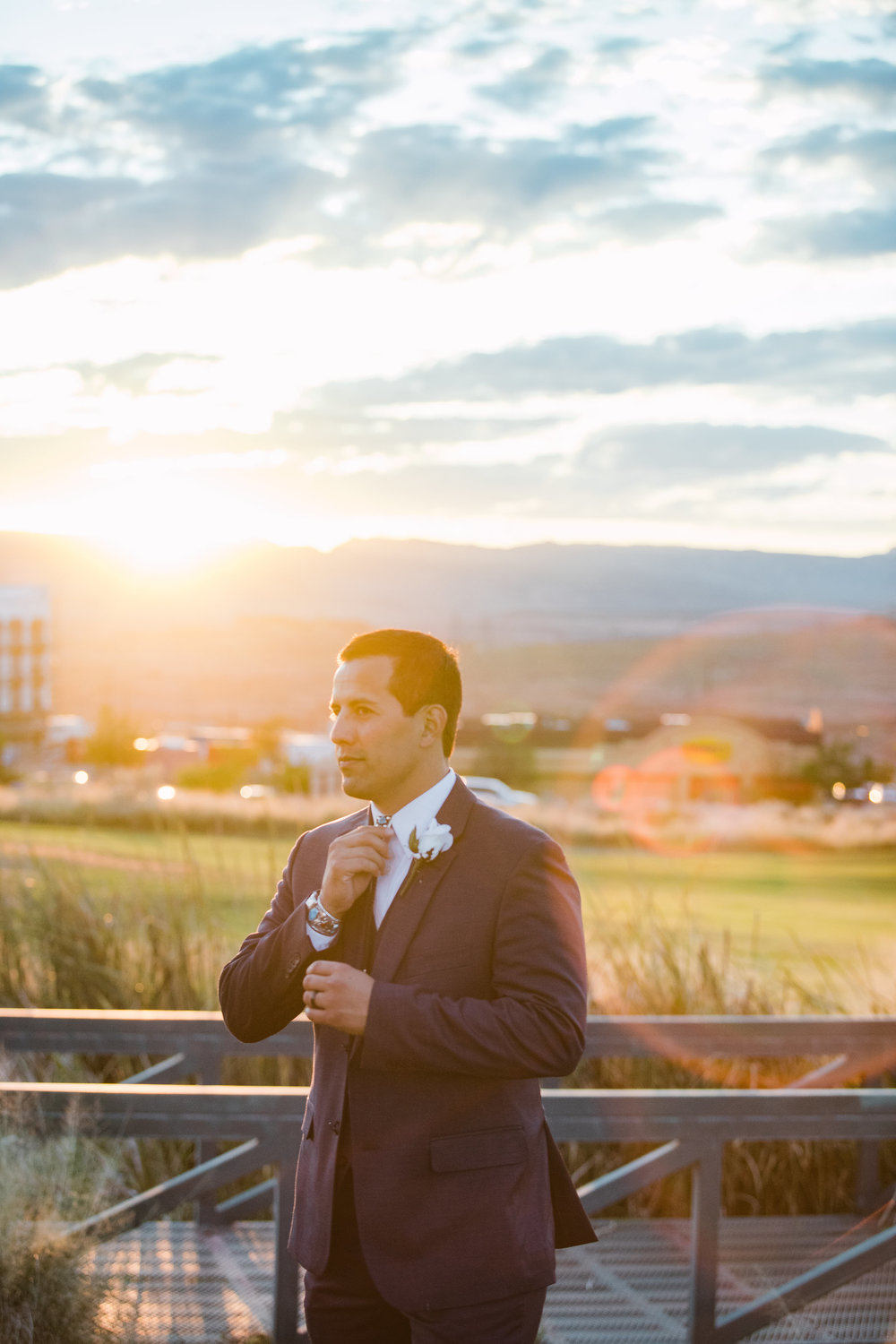 Arizona Sunset Wedding