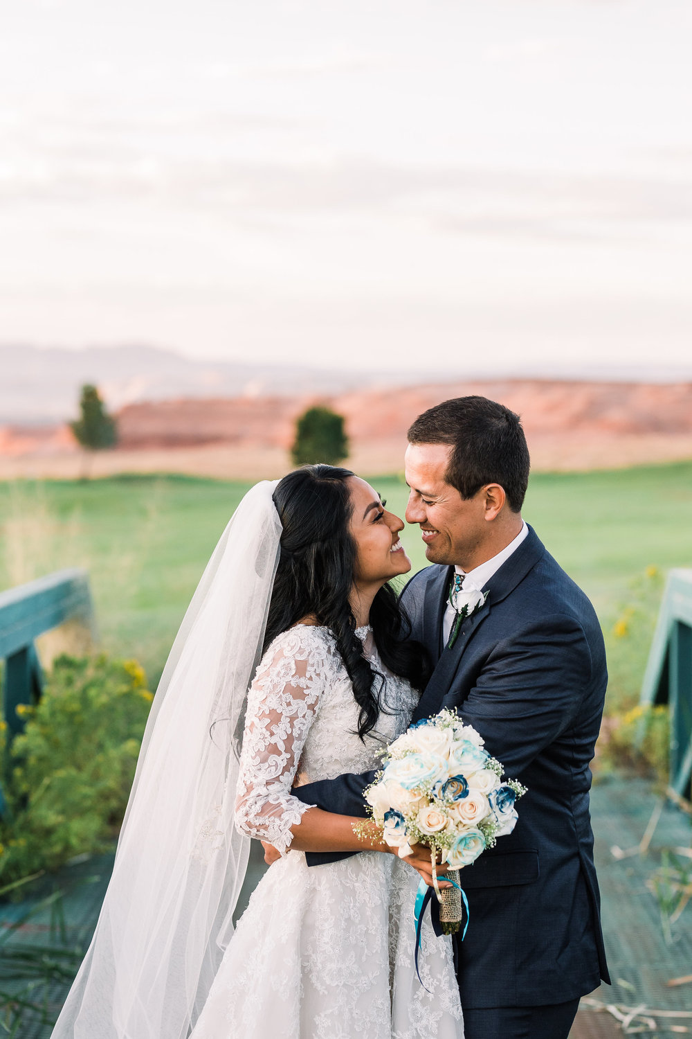 Page Arizona Wedding