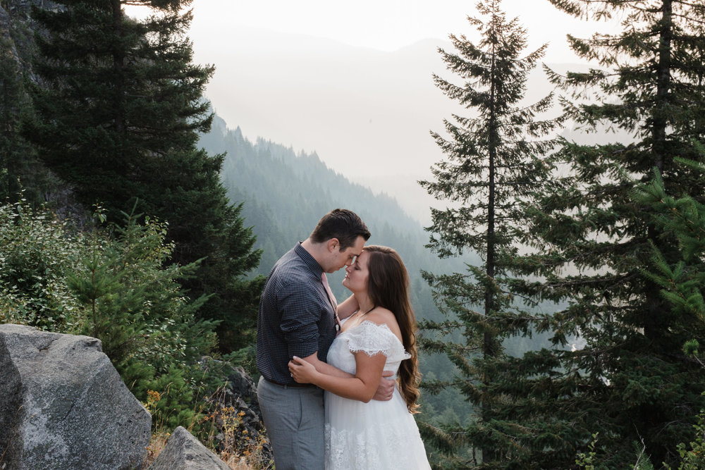 Washington Mountain Intimate Wedding
