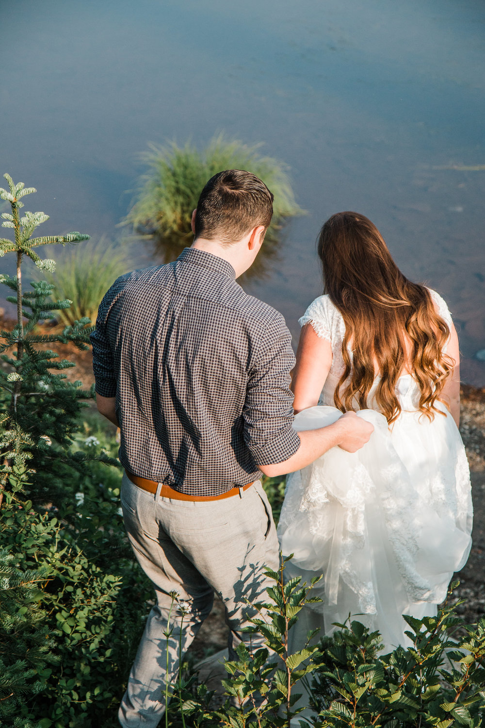 Adventure wedding photographers in Colorado