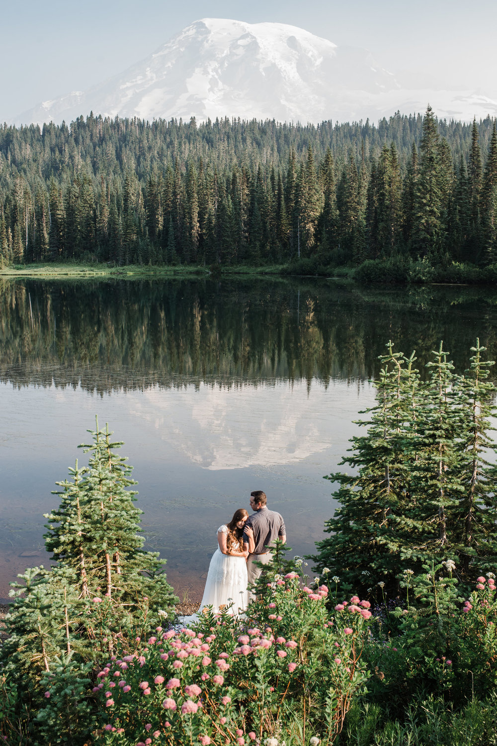 Mount Rainier National Park Intimate Wedding