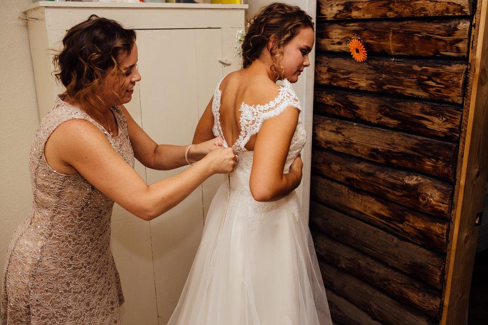 Mom Bride Wedding Dress